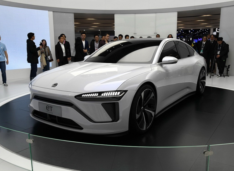 Sword Refers To Model 3 Nio Et Sedan Will Debut On Nio Day Smart World